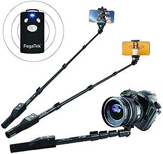 """Fugetek 49"""" Selfie Stick Monopod Professional High End FT-568, For Apple iPhone, Android Samsung, & DLSR Cameras, Aluminum..."""