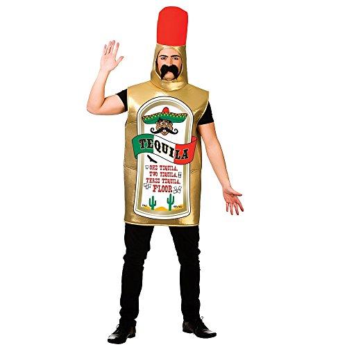 Carry Me – Fles Tequila kostuum voor volwassenen, One Mate, FN-8628