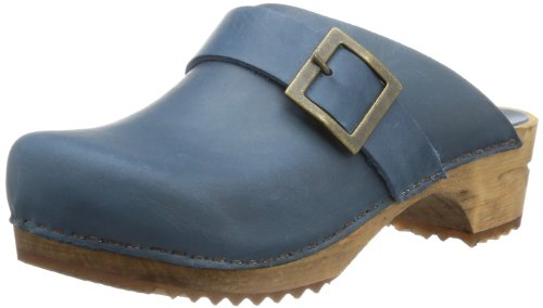 Sanita Urban Damen Clogs, Blau (5 blue), 41 EU