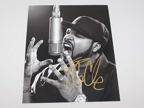 N.W.A. Straight Outta Compton Ice Cube Hand Signed Autographed 8x10 Glossy Photo Loa