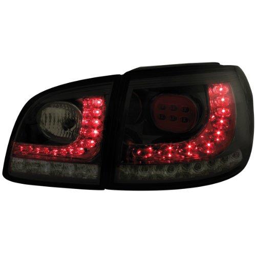 Dectane RV45KLBS Litec LED Rückleuchten VW Golf V/VI + Plus 05+, schwarz / rauch