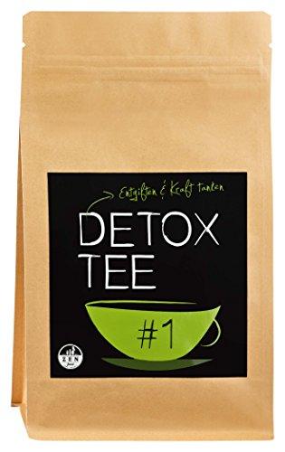 Té Detox | La cura de 28 días ✮ 100g ✮ Complementa ideal para su dieta de nutrición | desintoxicar y purificar naturalmente con el té | Calidad Premium