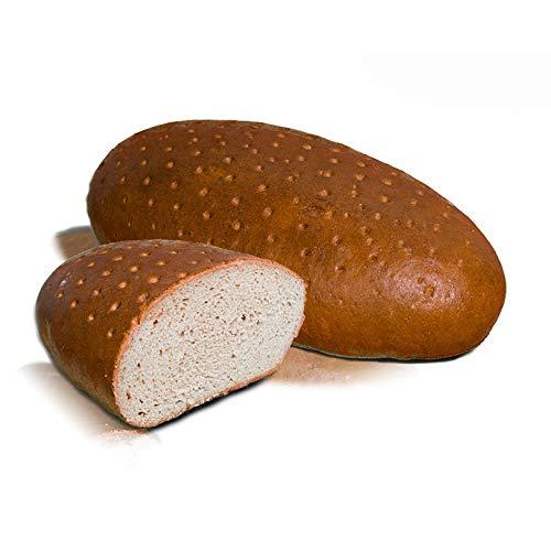 Vestakorn Handwerksbrot, Roggenmischbrot 1,5 kg - frisches Brot – Natursauerteig, selbst aufbacken in 10 Minuten