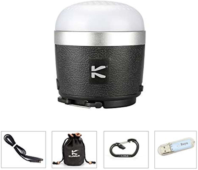 Klarus CL1 Camping-Laterne 4500K High CRI LED 390 Lumen Blautooth Sound Musik Camping Licht USB wiederaufladbar Wasserdicht Tragbare Zeltbeleuchtung Outdoor Laternen + Ruyu USB Licht