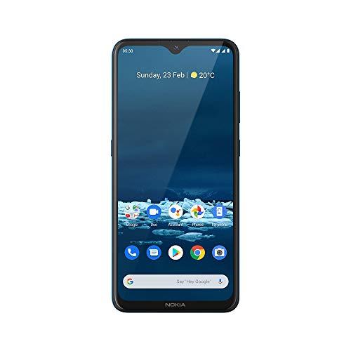 Nokia 5.3 Smartphone - Deutsche Ware (16,3cm (6.55 Zoll), 64GB interner Speicher, 4GB RAM, Dual Sim), Cyan