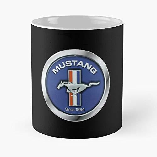 5TheWay Since Ford Mug Mustang Logo Standardkaffee 11 Unzen Geschenk Tassen für alle