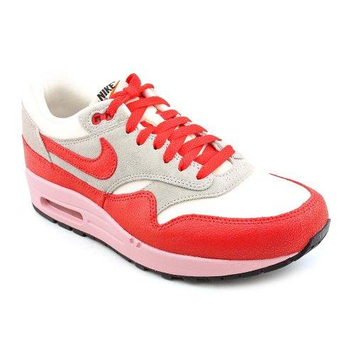 Nike Air Max 1 VNTG Dames Grijs Textiel Sneakers Schoenen Maat UK 4.5