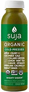 Suja Organic Essentials Mighty Dozen Vegetable & Fruit Juice 12 ounce (Pack of 6)