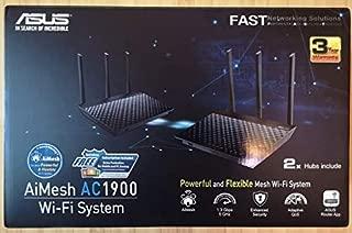 ASUS AiMesh Router AC1900 Dual Band Gigabit RT-AC67U-2PACK