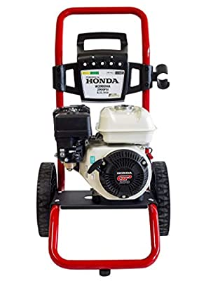 ? Petrol Pressure Washer ? Powered by Honda GP 200-2900 PSI 196cc Petrol Engine Powered High Pressure Portable Jet Sprayer W2900HA ? Premium Power Car & Patio Cleaner from WASPPER