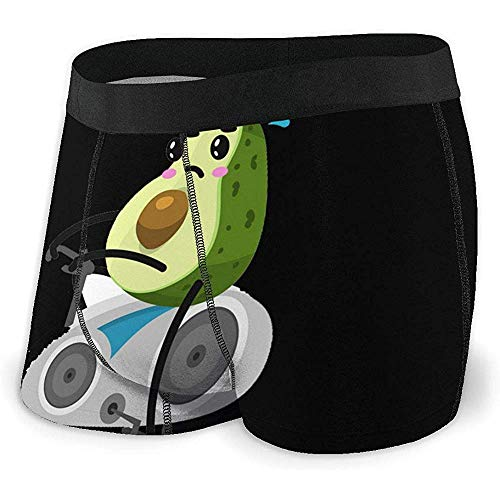 Fruit Sports Sports Men 's, sous-vêtements à Angle Plat, Ceinture Respirante pour Boxeur avec Ceinture exposée