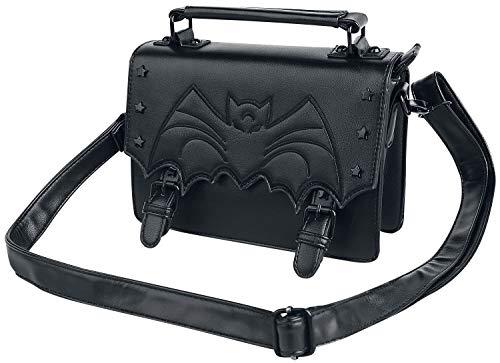 Banned Alternative Nocturne Frauen Handtasche schwarz