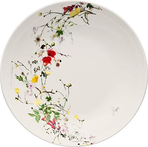 Rosenthal Brillance Wildblumen-Teller, tief, Porzellan, Mehrfarbig, 21 cm