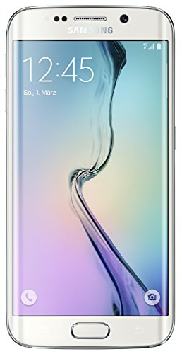Samsung Galaxy S6 Edge Smartphone (5,1 Zoll (12,9 cm) Touch-Display, 64 GB Speicher, Android 5.0) weiß