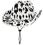 Beistle Cow Print Cowboy Hat-1 Pc,...