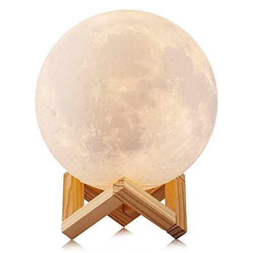 EONANT Lampada a Luna 3D, Lampada di Notte della Lampada di Luna...