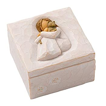 Willow Tree Comfort Sculpted Hand-Painted Keepsake Box