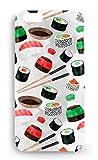 Funda Carcasa Sushi Fiesta para Motorola Moto G4 G4 Plus Play G5 plástico rígido
