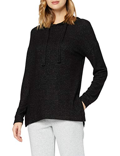 Marca Amazon - find. Capucha Mujer, Negro (Black), 40, Label: M
