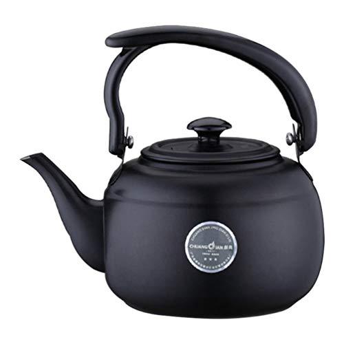 Cabilock - Hervidor de té de acero inoxidable de 1 litro para...