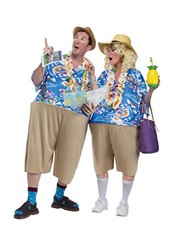 1. Fun World Tacky Adult Tourist Costume Standard