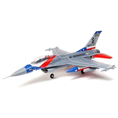 E-flite F-16 Falcon 64mm EDF PNP Plata Jet RC Plug and Play (PNP)