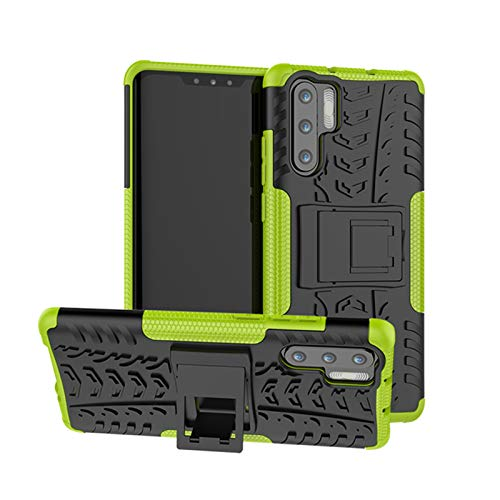 betterfon Outdoor Handy Tasche Hybrid Case Schutz Hulle Panzer TPU Silikon Hard Cover Bumper fur Huawei P30 Pro Grun