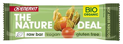 Enervit The Nature Deal - Barretta Biologica Vegana Golden Berry Joy, 30g