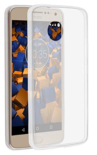 mumbi Hülle kompatibel mit Lenovo Moto E4 Plus Handy Case Handyhülle dünn, transparent