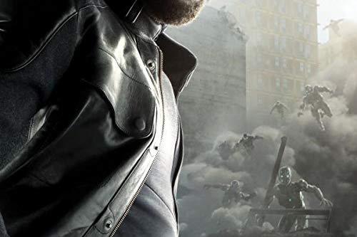 Preisvergleich Produktbild Ultron Age of Characters - Magnetic Metal Poster 45x32 - Nick Fury