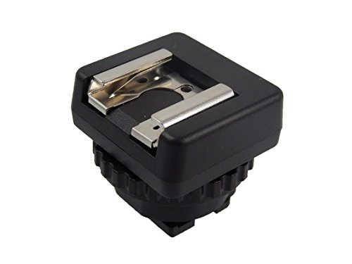 vhbw Blitzschuhadapter Adapter passend für Sony Camcorder Sony HDR-PJ790E, HDR-PJ790VE, HDR-PJ810/B, HDR-PJ810E wie MSA-MIS