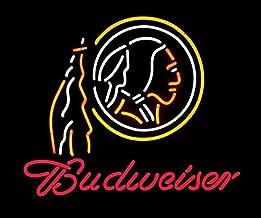 "New Coors Light Washington Redskins Beer Bar Neon Sign 20/""x16/"""