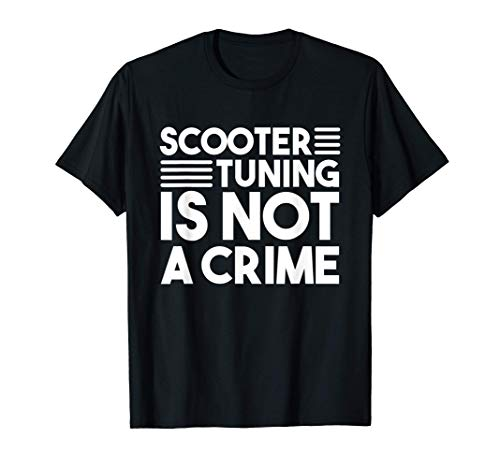 Scooter Tuning Rollerfahrer Roller Tuner Scooter Roller Fan T-Shirt