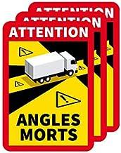 Adhésif Angles Morts Lot de 3 Spécial Camion - Réglementation : Angle Mort - Autocollants