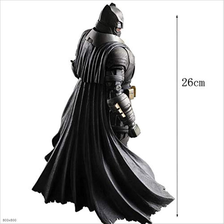 Envío rápido y el mejor servicio RMJAI Versión en película Batman y súperman súperman súperman Articulaciones de Juguetes Estatua Swingable Adornos Animación Virtual Colección de Modelos Artesanía Regalos de Alta calidad26cm Modelo Anime  al precio mas bajo