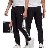 adidas Mens Pants (1/1) M 3S Ft TC Pt, Black/White, GK8831, M EU