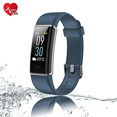 Semaco Fitness Tracker, Fitness Watch with Color Screen Heart Rate Monitor Sleep Monitor, IP68 Waterproof Step Counter Activity Tracker, Smart Watch for Kids Women and Men
