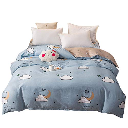 CXLCotton quilt cover single quilt cover single piece double cotton quilt cover 100% cotton double-sided pattern quilt cover home comfort bedding duvet cover