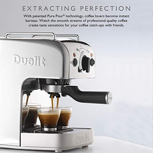 41CsYjBBR3L. SS500  - Dualit 3-in-1 Coffee Machine | Polished Stainless Steel | 1.5 L Capacity | Multi-Brew Versatility | Patented Pure Pour…