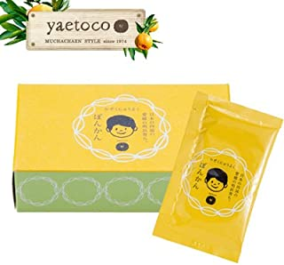 yaetoco 家族入浴料 ぽんかん (50g×5包入り)