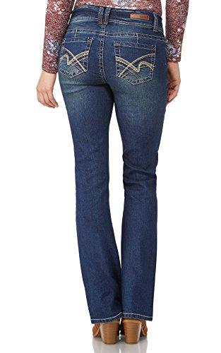 WallFlower Juniors Luscious Curvy Basic Bootcut Jeans in Katy Size:13