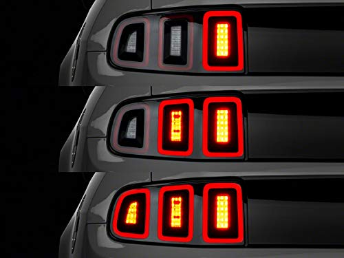 Raxiom Tail Light Sequencer; Plug-and-Play for Ford Mustang 2010-2020