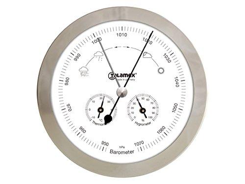 Talamex Station météo Baromètre Thermomètre Hygromètre