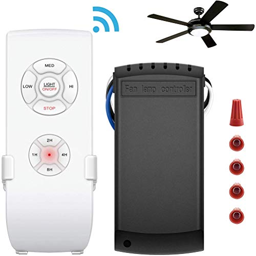Macabolo Wi-Fi Smart Fan Controller Afstandsbediening Kit Plafondventilator Schakelaar Controller voor plafondventilator