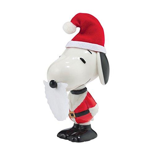 Department 56 Peanuts Christmas Santa Snoopy Figurine
