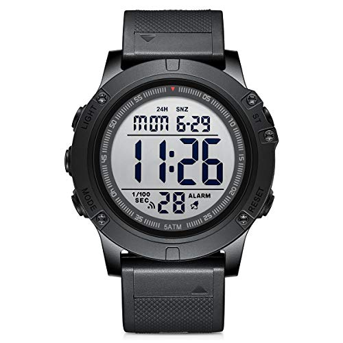 GOLDEN HOUR Men's Digital Sport Watches Waterproof Military Tactical Style...