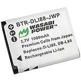 Wasabi Power Battery for Sanyo DB-L80, DB-L80AU and Sanyo VPC-CA100, VPC-CA102, VPC-CG10, VPC-CG20, VPC-CG21, VPC-CG100, VPC-CG102, VPC-CS1, VPC-GH1, VPC-GH2, VPC-GH3, VPC-GH4, VPC-PD1, VPC-PD2