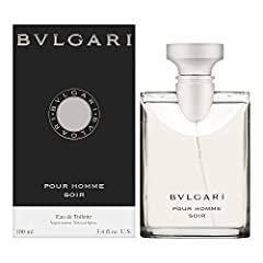 This item is not a Tester Packaging may vary Beauty and personal care product 3.4 ounce edt spray Bvlgari Pour Homme Soir was launched by the design house of Bvlgari It is recommended for casual wear