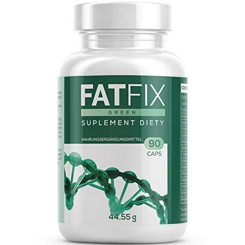 FatFix Kapseln - Maxi-Pack - mit 90 Kapseln | Fburner mit Garcinia Cambogia Extrakt - Fitness Sommer Aktion Keto (1 Dose)