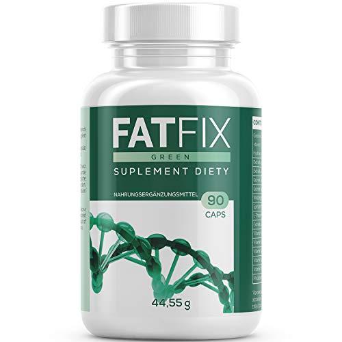 FatFix Kapseln hochdosiert | FBurner - Ideal für den Stoffwechel in Kombination mit einer gesunden Diät - Fitness Sommer Aktion Keto (1 Dose)